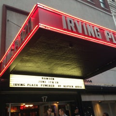 Photo taken at Irving Plaza by Valerie B. on 6/18/2013