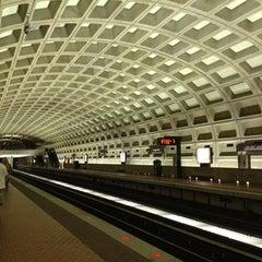 Photo taken at Farragut West Metro Station by Kristin W. on 5/25/2013
