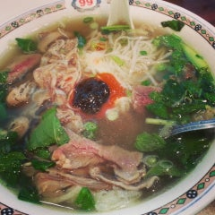 Photo taken at Pho Mi 99 by June on 12/27/2013