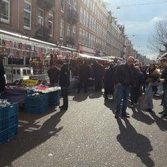 Photo taken at Albert Cuyp Markt by Suzanne N. on 4/6/2013