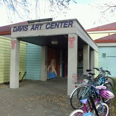 Photo taken at Davis Art Center by Roly B. on 12/8/2012