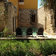 Photo taken at Hacienda Puerta Campeche by JOY J. on 6/6/2013