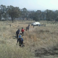 Photo taken at Cerro de Amalucan by Monik K. on 4/28/2013