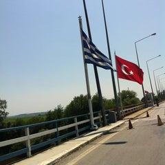 Photo taken at Τελωνείο Κήπων (Greece Kipoi Border Station) by Mine U. on 7/13/2013