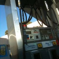 Photo taken at Chevron by Stephanie C. on 4/9/2013