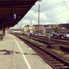 Photo taken at Hagen Hauptbahnhof by Felipe K. on 4/19/2013
