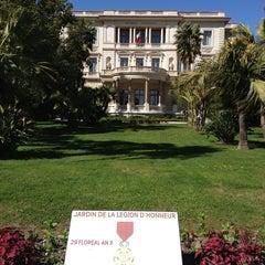 Photo taken at Musée Masséna by Raquel A. on 4/12/2013
