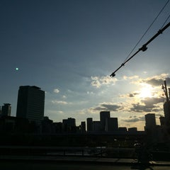 Photo taken at 天神橋 by ぐれます A. on 5/29/2015