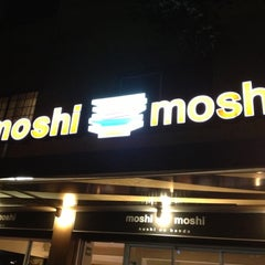 Photo taken at Moshi Moshi by Daniel C. on 10/13/2012