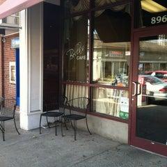 Photo taken at Bella's Cafe by Brad K. on 4/7/2013