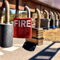 Photo taken at Bommer Canyon Trailhead by Larry T. on 9/3/2014