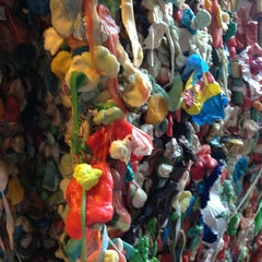 Photo taken at Gum Wall by Cyn D. on 7/16/2013
