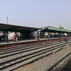Photo taken at Gurgaon Railway Station (GGN) by Nitish M. on 1/13/2015