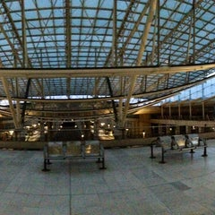 Photo taken at Gare SNCF d'Aéroport Charles de Gaulle TGV by Luc S. on 4/14/2013