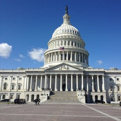 Photo taken at U.S. Capitol - Senate by Nicholas D. on 3/7/2013