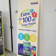 Photo taken at Maxis Centre by MardiaNa M. on 9/4/2014