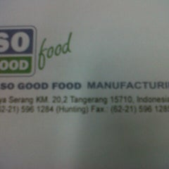 Photo taken at PT. So Good Food Manufacturing by Leon C. on 3/30/2013