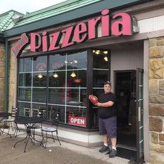 Photo taken at Sareini's Pizzeria by Chow Down Detroit on 8/25/2015