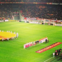 Photo taken at Amsterdam ArenA by Justin V. on 2/14/2013