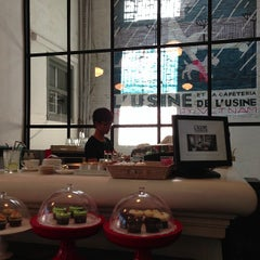 Photo taken at L'USINE: Et la Cafeteria de L'Usine by Alistair P. on 3/16/2013