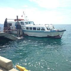 Photo taken at Sibulan Pier (Ferry Terminal) by Kar L. on 5/27/2013