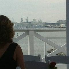 Photo taken at Chesapeake Bay Beach Club by Will G. on 9/29/2012