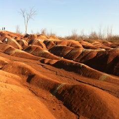 Photo taken at Cheltenham Badlands by June on 11/17/2012