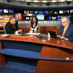 Photo taken at FOX 26 (KRIV-TV) by Gil G. on 11/15/2015