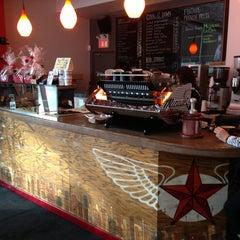 Photo taken at Dark Horse Espresso Bar by Dave C. on 12/24/2012