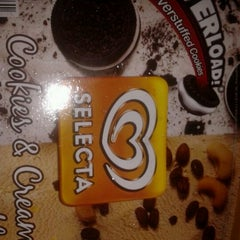 Photo taken at Selecta Ice Cream Station by Connie Marie N. on 5/21/2012