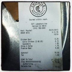 Photo taken at Chipotle Mexican Grill by Aaron J. on 5/22/2013