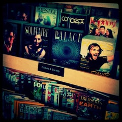 Photo taken at Borders by z on 1/6/2013