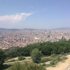 Photo taken at Parc de Bombers de Montjuïc by Firdevs D. on 7/8/2013