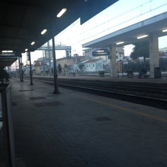 Photo taken at Stazione Giulianova by Giangi C. on 2/14/2014