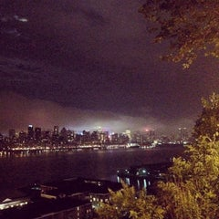 Photo taken at North Bergen Overlook by Dusan D. on 6/14/2014