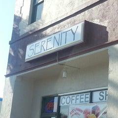 Photo taken at Serenity Coffee Shop by Amanda V. on 6/27/2013