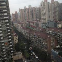 Photo taken at Crowne Plaza Shanghai | 上海银星皇冠酒店 by William K. on 11/21/2012