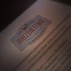 Photo taken at Orizontino Bar e Cultura by Fernanda F. on 12/21/2012