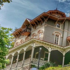 Photo taken at Asa Packer Mansion Museum by Rob M. on 10/10/2014