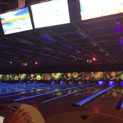 Photo taken at New Roc n Bowl at Funfuzion New Roc City by Marnie M. on 12/28/2013