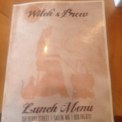 Photo taken at Witch's Brew Cafe by Chelsea C. on 9/24/2014