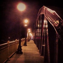 Photo taken at Ford Street Bridge by Matt D. on 10/22/2013