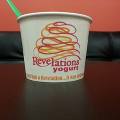Photo taken at Revelations Yogurt by Tracey H. on 4/13/2013