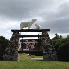 Photo taken at Polar Caves Park by Jacqueline O. on 9/3/2013