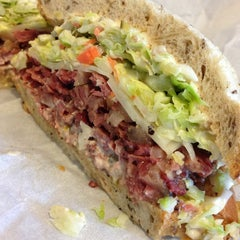 Photo taken at Langer's Delicatessen-Restaurant by HopHeadJim on 1/7/2013