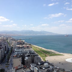 Photo taken at Ege Palas Business Hotel by Iskender S. on 4/18/2013