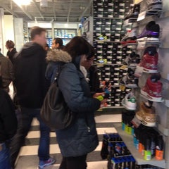 Photo taken at Adidas Factory Outlet by Sean L. on 11/29/2013