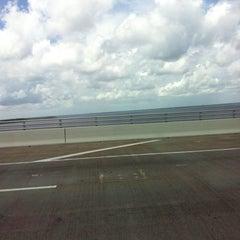 Photo taken at The Hathaway Bridge by Shanda J. on 7/21/2013