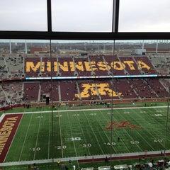 Photo taken at TCF Bank Stadium by Christopher B. on 11/3/2012