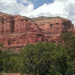 Photo taken at Sedona Red Rocks by Amber S. on 6/15/2013